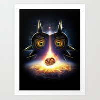 Majora's Mask Operation … Art Print