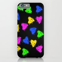 Scribbled Hearts iPhone 6 Slim Case