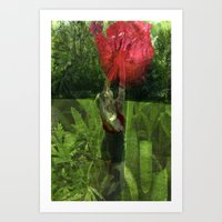 Flower Fairies Art Print