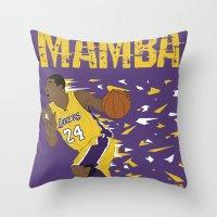 Mamba Throw Pillow