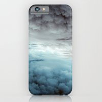 Glacier Painted Clouds  iPhone 6 Slim Case