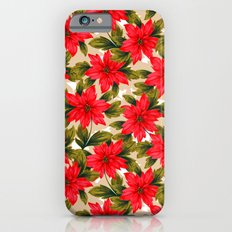 Poinsettia iPhone 6s Slim Case