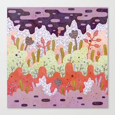 Crystal Forest Canvas Print