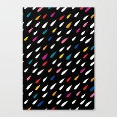 Bright Droplets Canvas Print