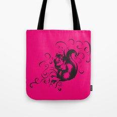 Squirrel Color Tote Bag