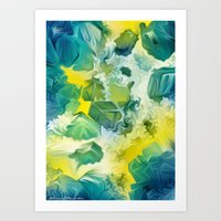 Mineral Series - Andradite Art Print