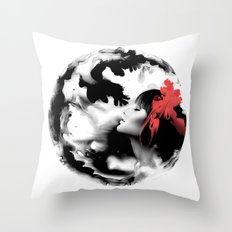 Ink Pepe Psyche Throw Pillow