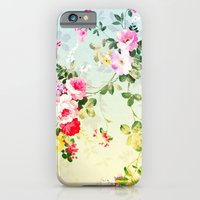 iPhone & iPod Case featuring VINTAGE FLOWERS II - for iphone by Simone Morana Cyla