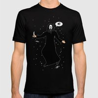 In space no one can hear you, scream Mens Fitted Tee Black SMALL