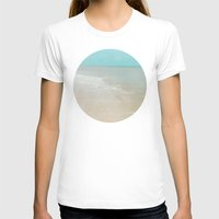 Soothe Womens Fitted Tee White SMALL