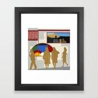 El Burrito Framed Art Print