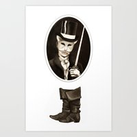 Puss in Boots Art Print