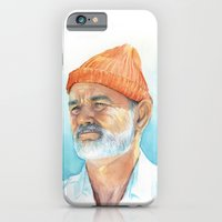 Steve Zissou Art | Watercolor Portrait iPhone 6 Slim Case