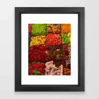 Colorful Candies Framed Art Print