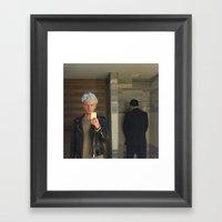 Untitled (selfie In Men'… Framed Art Print