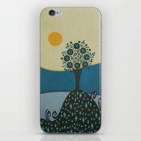 Lone Tree In The Hills iPhone & iPod Skin