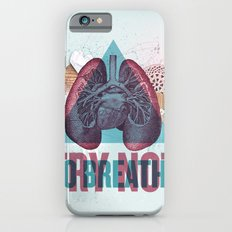 TRY NOT TO BREATHE iPhone 6 Slim Case