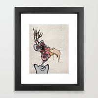 Buck n' Cluck Framed Art Print