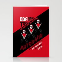 Autobahn--East German Tour 1982 Stationery Cards