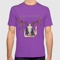 Long Live The Dead - Dea… Mens Fitted Tee Ultraviolet SMALL
