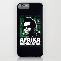 The Mighty Souls: Afrika Bambaataa iPhone 6 Slim Case