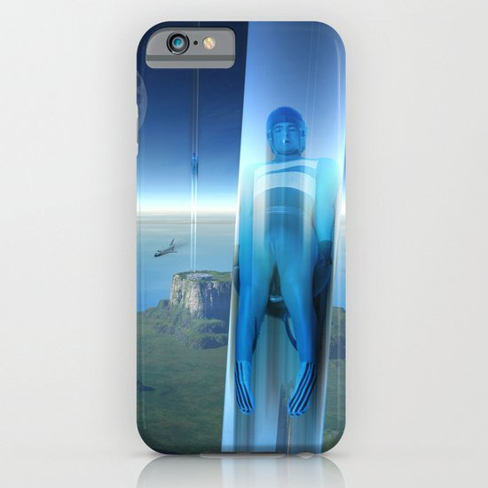 space elevator - babylon transfer station 02 iPhone & iPod Case