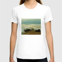 The Sea Of Life Womens Fitted Tee White SMALL