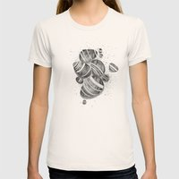 Pebbles Womens Fitted Tee Natural SMALL