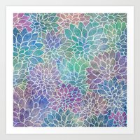 Floral Abstract 9 Art Print