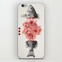 To Bloom Not Bleed iPhone & iPod Skin
