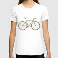bicycle T-shirts featuring Bicycle by Daniel Mackey