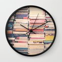 Our Books  Wall Clock