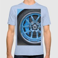 Lamborghini Mens Fitted Tee Athletic Blue SMALL