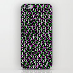 Pink/Green Web iPhone & iPod Skin