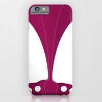 Silhouette Racers - Dodge Challenger iPhone 6 Slim Case