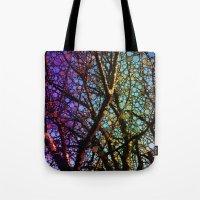 Colourful Tree Tote Bag