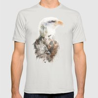 Pride Before the Fall Mens Fitted Tee Silver SMALL