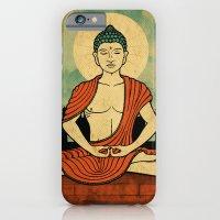 iPhone & iPod Case featuring Meditating Buddha by Jon Hernandez
