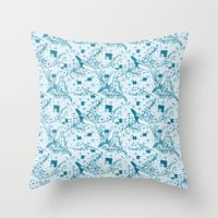 Solving Nature Throw Pillow