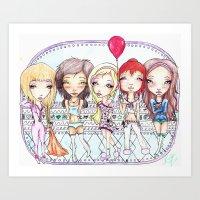 Pj Party Art Print