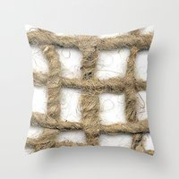 Barriers Throw Pillow