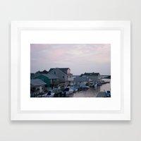 Vanilla Sky Framed Art Print