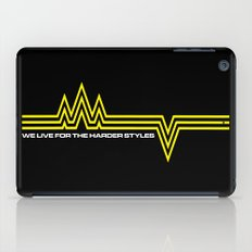 The Harder Styles Music Quote iPad Case