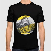 Brocken Mountain Mens Fitted Tee Black SMALL