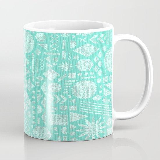 Modern Elements with Turquoise Mug
