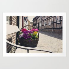 The Basket Art Print