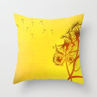 Fleeting Thoughts Throw Pillow