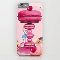 iPhone & iPod Case featuring Pink Candy  by Lorène Russo illustration