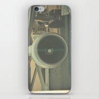 Vintage Airplane Engine  iPhone & iPod Skin