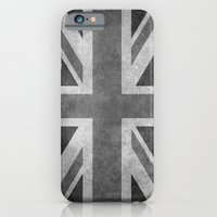 Union Jack Vintage retro style B&W 3:5 iPhone 6 Slim Case